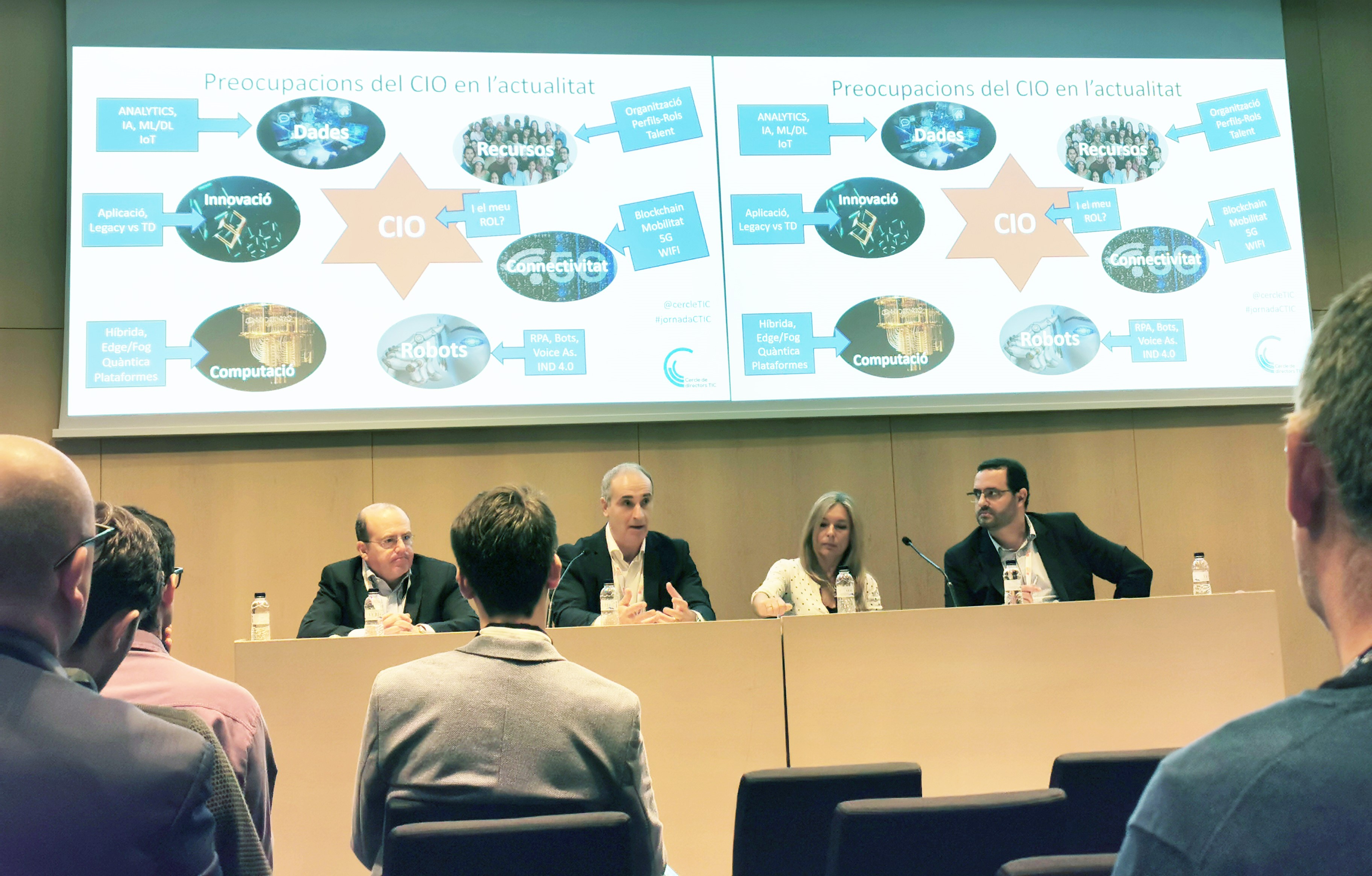Roundtable Debate on CIO and chief innovation officer