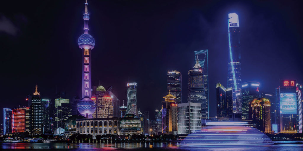 Nightview of Shangai, doing business in China