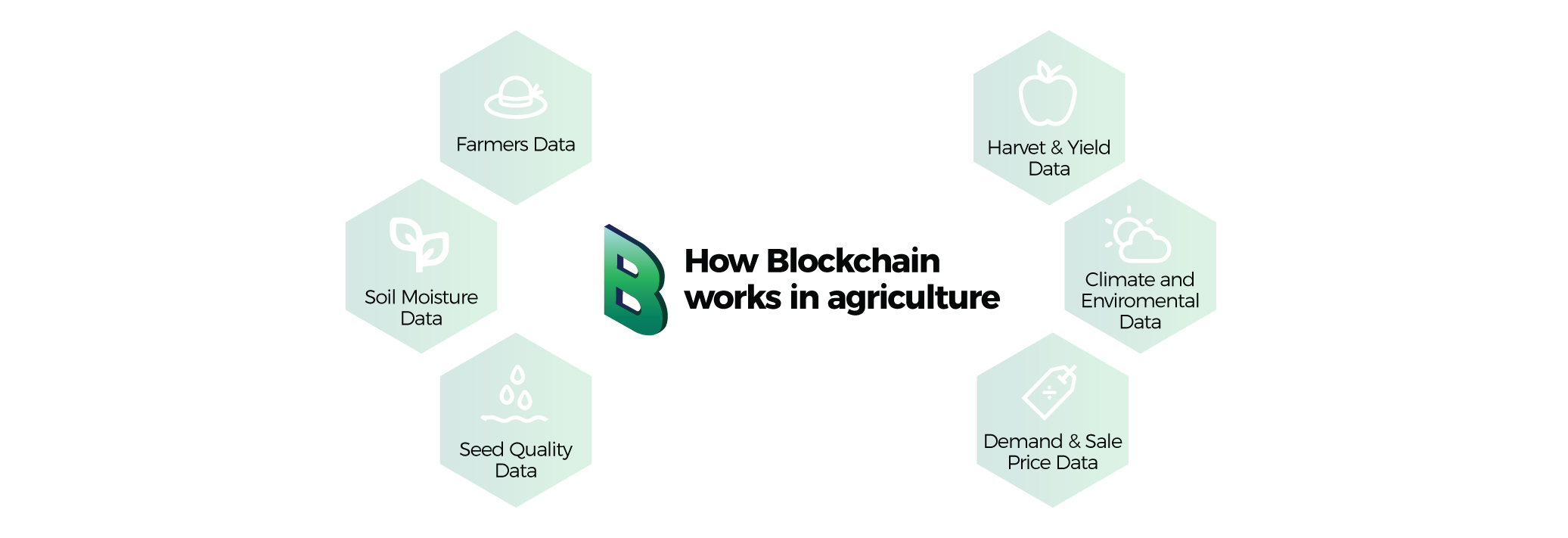 industry applications of blockchain agriculture