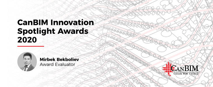 CanBIM Innovation Spotlight Awards 2020