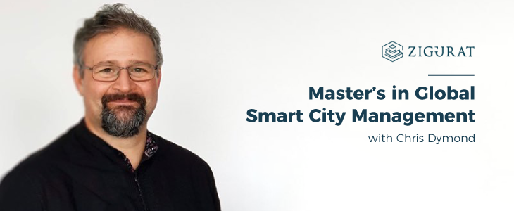 Chris Dymond, the new director of the Master's in Global Smart City Management